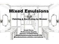 Painting and Decorating Mixed Emulsions