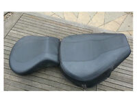 Harley Davidson Softail Seat & Pillion Pad MINT condition