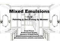 Mixed Emulsions - Painting & Decorating - High Quality Painting by Women