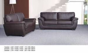 Quilty 3 seater Pu leather sofa arrive in warehouse only $500 Kingsgrove Canterbury Area Preview