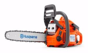 Husqvarna Days! Save up to $90 on select model consumer & commercial chainsaws!