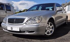 MERCEDES S CLASS S320CDI 2002 LOW MILEAGE