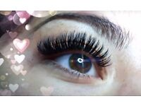 EYELASHES EXTENSION RUSSIAN VOLUME, 3D lashes, MOBILE SERVICE, SALE !!! 07539707908