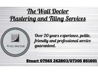 Plastering and Tiling Services