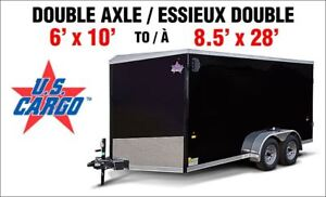 2018 US Cargo 6'x10' to 8.5'x28' V-Nose SEE OUR PRICE LIST BELOW