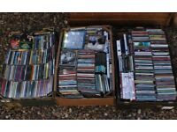 3 Boxes of Music CDs Great For Carboots