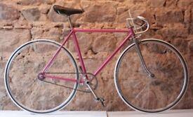 1980s Vintage Mercier Racing Bike 51cm Fixie