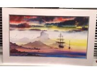 "(Papion print ) ( Smugglers ) in perfect condition.. Size of print 11""x 21"" ..."