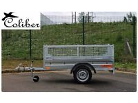 New Car trailer caged-cage-mesh