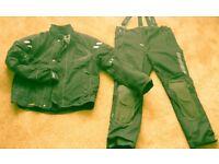Rukka Size 58 Jacket and Trousers Matching Goretex Waterproof Cordura Gear