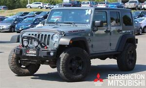 2014 Jeep Wrangler UNLIMITED RUBICON X! LEATHER! NAV!