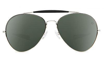 2015 NIB MENS SPY PRESIDIO SUNGLASSES $130 ONE silver black happy grey green