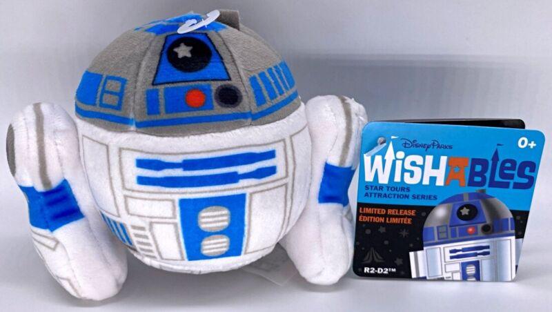 Disney Parks Wishables R2-D2 Star Tours Attraction Series LR plush - NEW