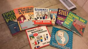 Dilbert and Dobert's Books by Scott Adams