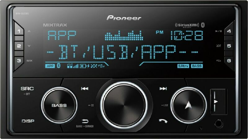 Pioneer - In-Dash Digital Media Receiver - Black