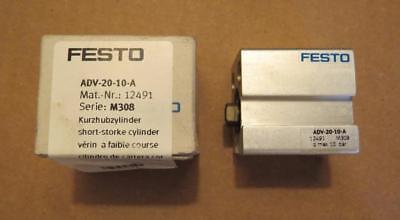 Festo Adv 20 10 A Pneumatic Cylinder