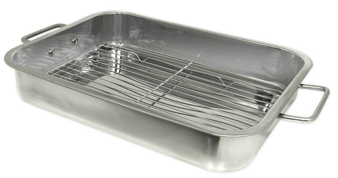 Prime Pacific Stainless Steel Heavy Duty 16 inch Lasagna Roa