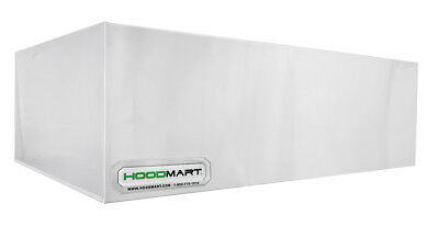 Hoodmart 7 X 48 Commercial Kitchen Pizza Deck Oven Type 2 Heat And Fume Hood