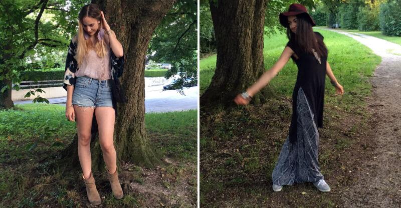 Ob Shorts, Bluse und Tunika oder Haremshose und geschlitztes XL-Shirt: hauptsache lässig und bequem! (© Sarah Sommer)
