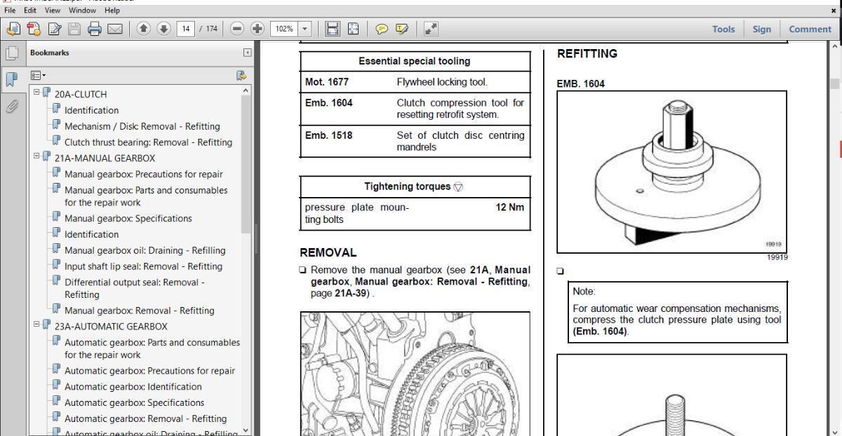 official workshop manual service repair renault megane 2002 2008