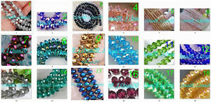 wholesale-18-style-color-3x4mm-150PCS-faceted-Crystal-Loose-gemstone-Beads-AB