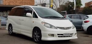 2002 Toyota Estima Aeras T Van People Mover Auto 7 Seater Family Car Great Condition