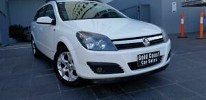 2007 Holden Astra AH MY07 CDX White 4 Speed Automatic Wagon Southport Gold Coast City Preview