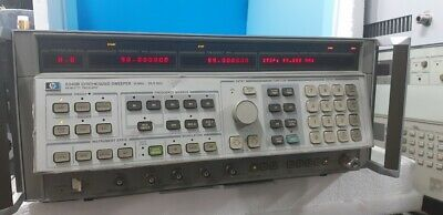Agilent Hp 8340b Synthesized Sweeper Non Option