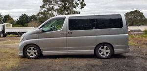 Nissan Elgrand 2004 Low Kms 8 Seater Drive Away with Warranty Oakleigh Monash Area Preview