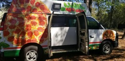 Lightly Used 2007 Chevrolet Express 20 Pizza Truck Turnkey Mobile Pizza Busin