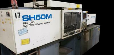 Sumitomo Sh50m 50 Ton Injection Molding Machine 2.4 Oz