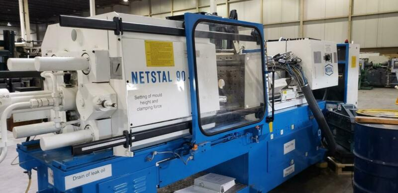 Netstal N170/90-MPS Injection Molding Machine 90 Ton
