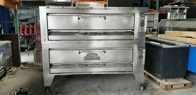 Montague Gas Double Deck Pizza Ovens 25p-2