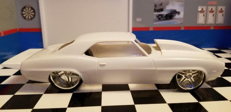 Wing for /'67 /& /'68 Camaro AMT 1//25 Resin Rear Spoiler HOT!