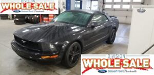 2005 Ford MUSTANG V-6 CONVERTIBLE AUTOM
