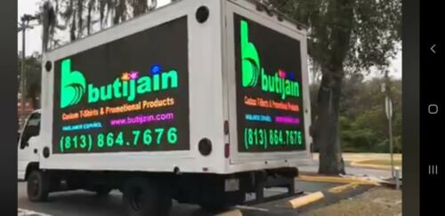 LED billboard truck P5 Truck + Complete LED system Fully Ready asking $89.000