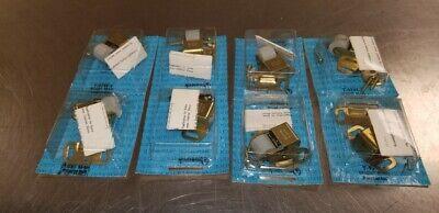 Vintage Amerock Hardware Cabinet Large Roller Catch T-9745 Lot of 8