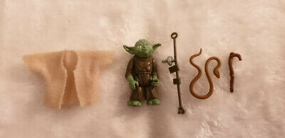 Star Wars Vintage Yoda Figure with Brown Snake (Complete and Near Mint)