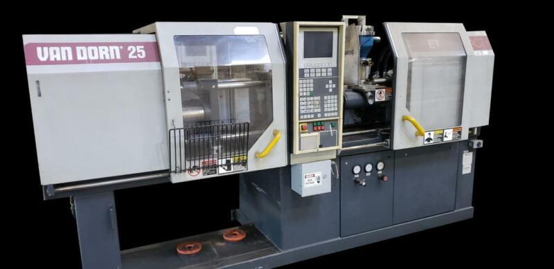 Van Dorn 250-80 30 Ton Injection Molding Machine Ergotech-Compact (2 Available)