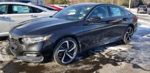 2019 Honda ACCORD SPORT Sport The Home of the Royal Treatment