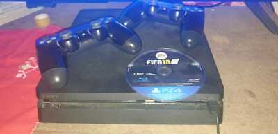 Sony PlayStation 4 PS4 Slim 1TB Console 3 Game Bundle FREE 2-3 DAY DELIVERY