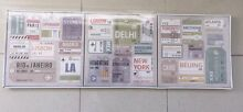 IKEA airline ticket stubs canvas prints NEW Erskineville Inner Sydney Preview