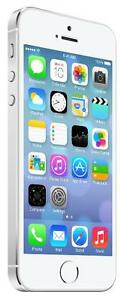 iPhone 5S 32 GB Silver Bell -- 30-day warranty, blacklist guarantee, delivered to your door