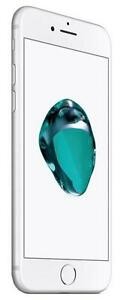 iPhone 7 32 GB Silver Unlocked -- 30-day warranty and lifetime blacklist guarantee
