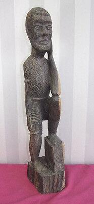 Africa 1920-30/Figure Wood Man Height 53cm