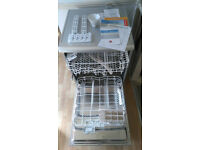 Hoover Dishwasher - Silver - HED 120 S. Bought Feb this year and used for 6 weeks - good as new.
