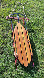 Speedaway antique sled in Mint shape London Ontario image 1