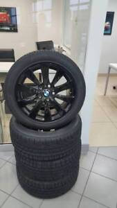 BMW 3/4 series Winter Mag/Tire Kit - Used one winter; <2000km