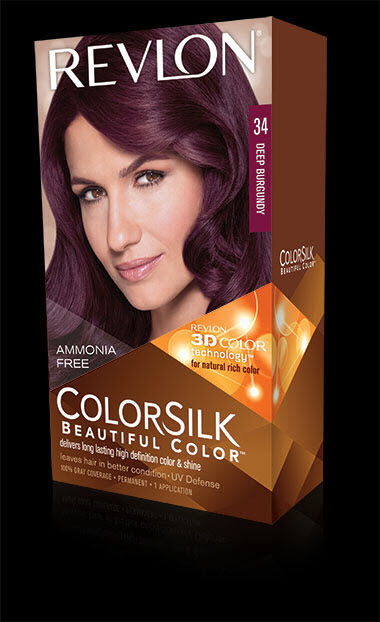 Revlon Colorsilk Hair Color 34 Deep Burgundy 1 Each Ebay