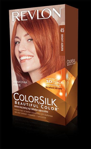 0f8336edba5 Revlon Colorsilk Permanent Color Level 3 4br Bright Auburn 45 for ...